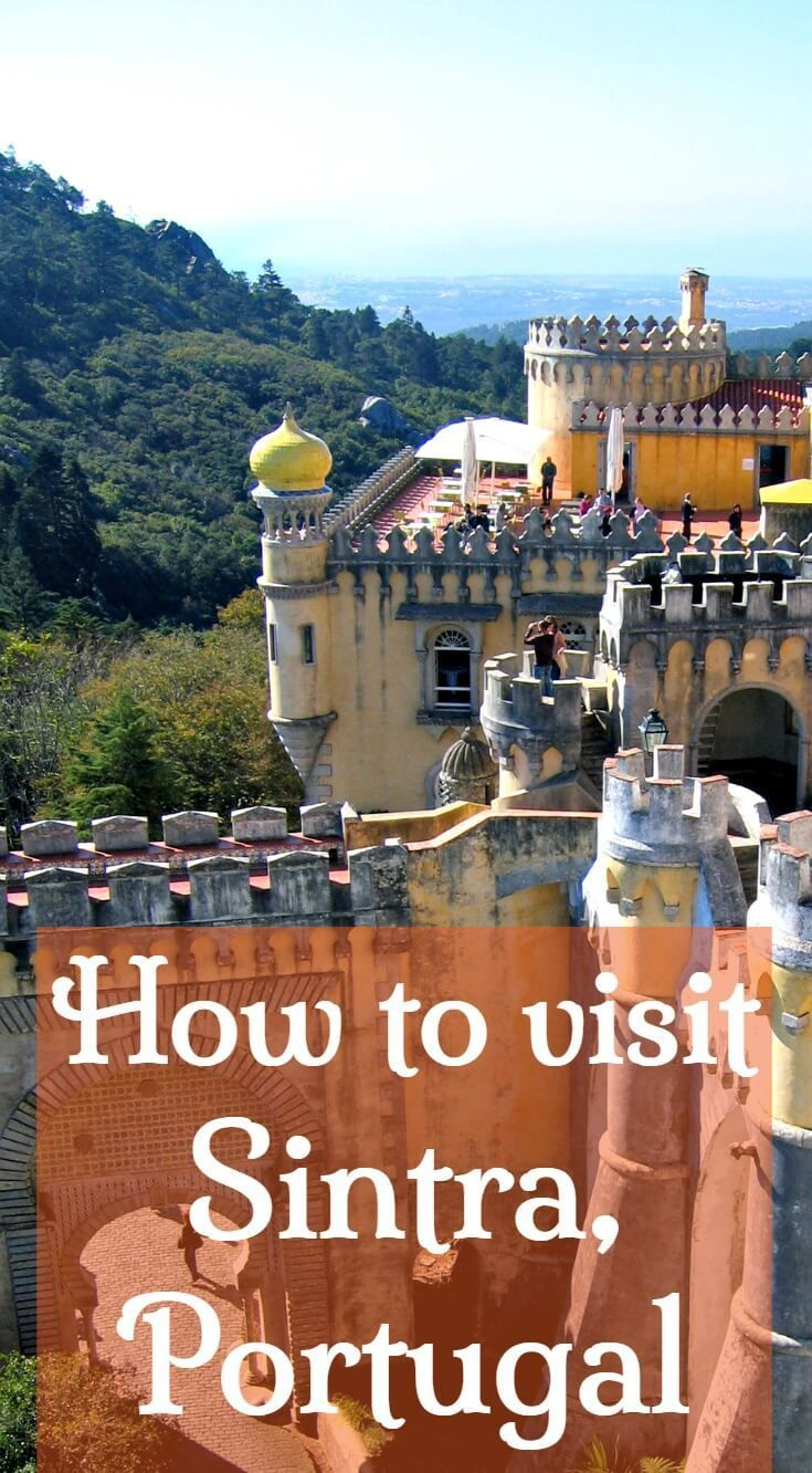 How to visit Sintra Portugal. What to see and do plus how to get around Sintra. Find out what each main attraction has to offer how long to spend and how to get around so you can plan your Sintra itinerary.