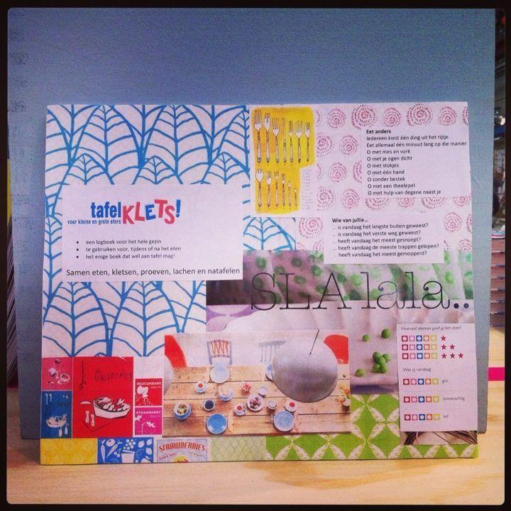 moodboard nieuw product: Tafelklets!  Gepresenteerd op #showUP (verwachte verschijning mei/juni 2014)