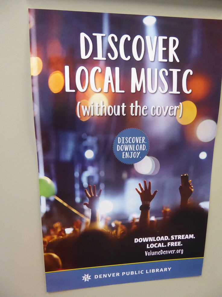 local music online - Main Library, Denver Public Library, CO