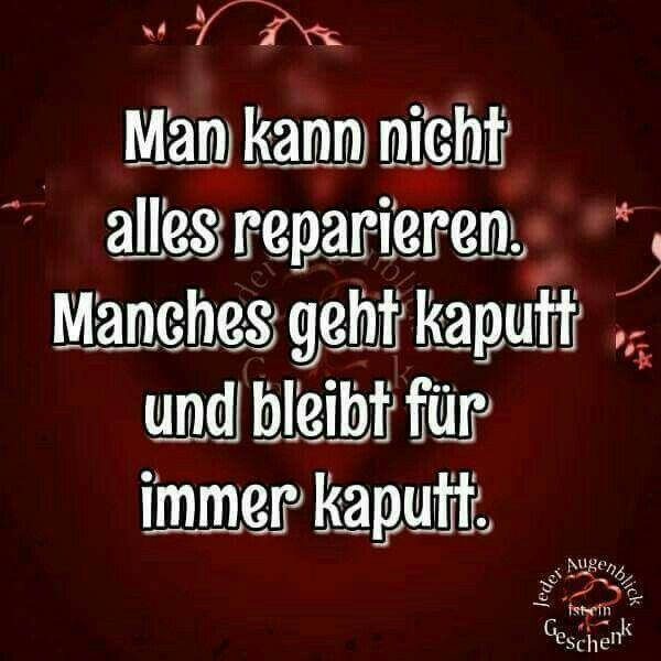 Kaputt...