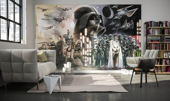 Star Wars Collage Wall Mural Wallpaper Buy It Now In 2020 Wall Murals Wall Collage Girls Bedroom Wallpaper