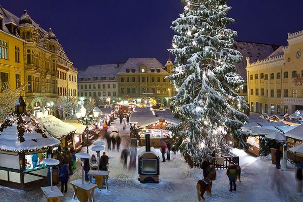 Weihnachtsmarkt in Zwickau