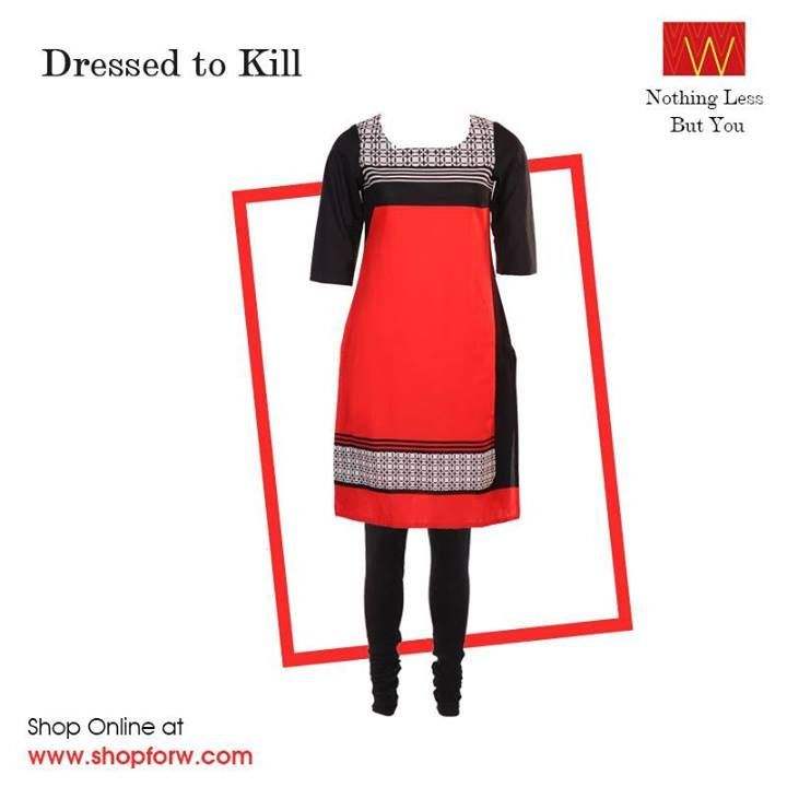 #Navratri Fever : Dress in W to be a head turner of the occasion.   Shop online here : www.shopforw.com
