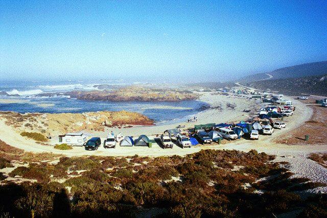 Tietiesbaai Beach Camp, West Coast, South Africa
