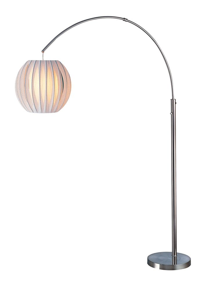 Light source deion arch floor lamp ls 8870ps wht