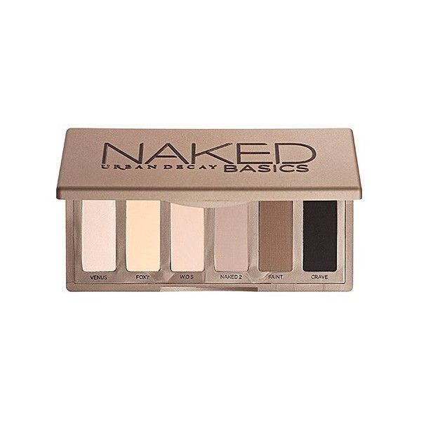 Sombras Naked Basics | Paleta de Sombras | Sephora ($75) ❤ liked on Polyvore featuring beauty products