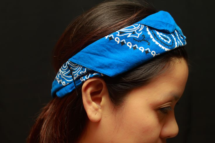 The awesome ways to tie a bandana.     Not that dumb 50's b-52 or homegirl  stuff.     wikiHow to Tie a Bandana -- via wikiHow.com