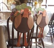 PB inspiration ..the turkeys are cute but I like the idea of using burlap for a table cloth