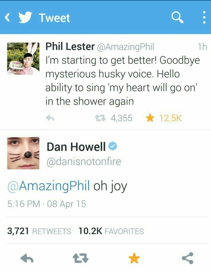 Yes Phil. Sing. Be free.  *Dans whispers in background* Eternal Summer