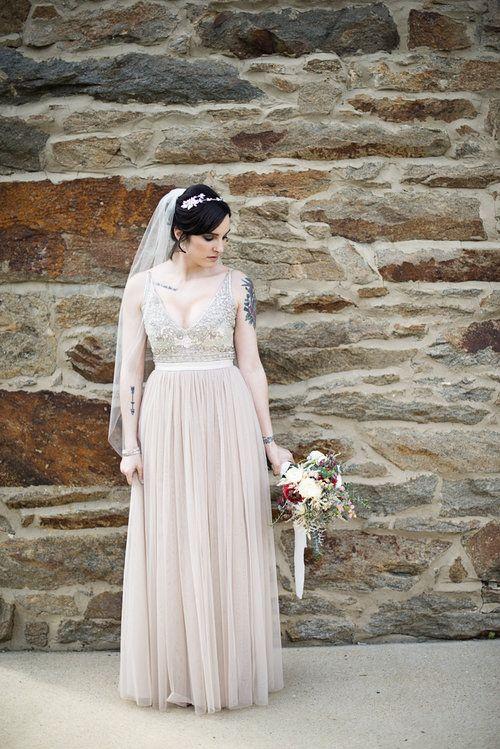 Modest wedding dresses maryland : Wedding dress on bhldn gowns modest