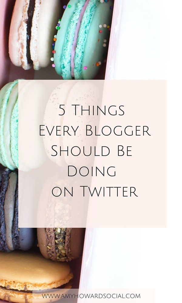 Put these 5 simple and actionable Twitter strategies to work and become an authority in your blogging field! 5 Things that Every Blogger Should Be Doing on Twitter.