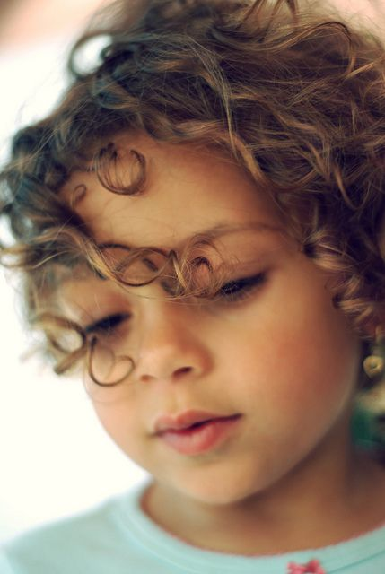 I will have curly-haired babies
