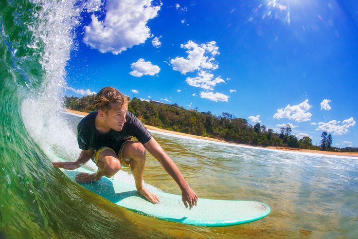 Surfer at Terrigal Beach - image: Andrew Cooney