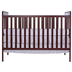 Dream On Me Classic 3 in 1 Convertible Crib: Best cheap baby cribs for sale under $100