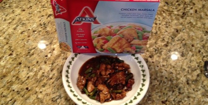 Atkins chicken marsala review food reviews and recipes for Atkins cuisine baking mix