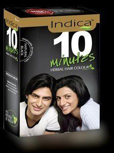 Indica Herbal Hair Colour 10 Minutes (Pack of 6) >>> Visit the image link more details.