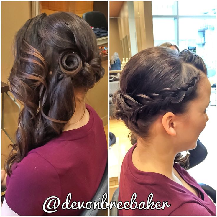 Updo style for my lovely client