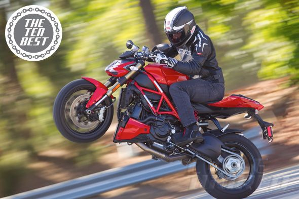 Ducati Streetfighter 848 action shot