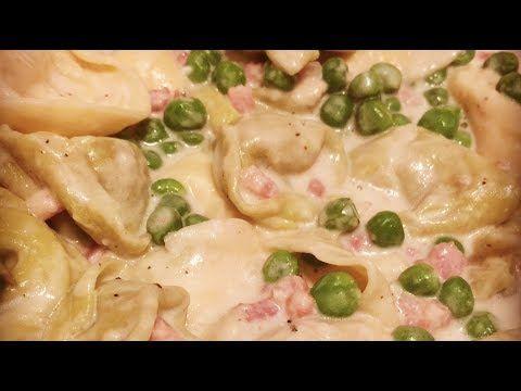 Instant Pot Tortellini Alfredo | Pressure Luck Cooking