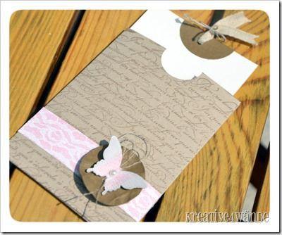 Einsteckkarte