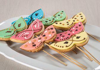 Mascherine di Carnevale di biscotti