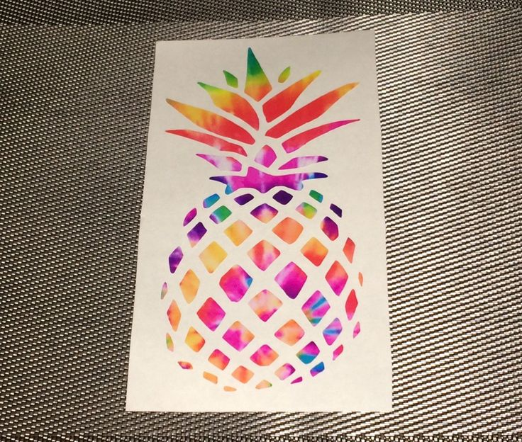 Tie Dye Vinyl Monograms Vine, Circle, Peace Sign Decals, Custom Hippie Monogram,Pineapple Decal by ShayButterMonograms on Etsy
