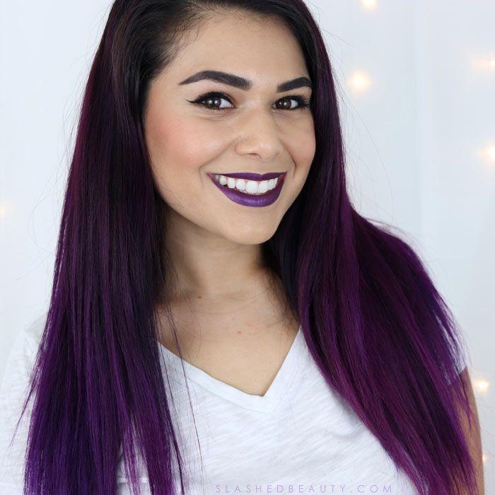 Purple Hair Color Maintenance Routine Purple Hair Hair Color