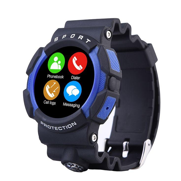A10 Wasserdichte Outdoor Sport Smart Uhr mit Kompass Abenteuer Bluetooth Smartwatch Tragbare Geräte Für Apple IOS Android //Price: $US $77.87 & FREE Shipping //     #smartuhren
