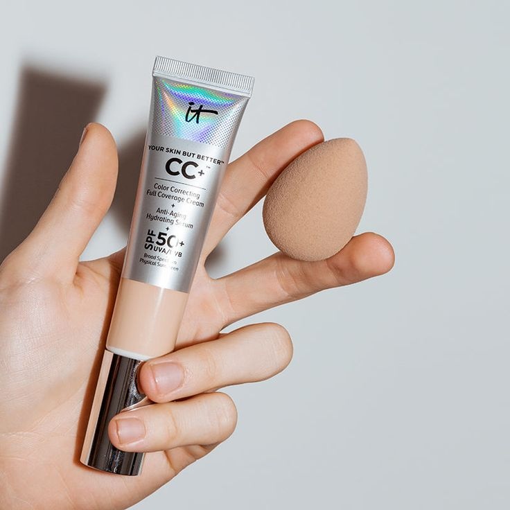 It Cosmetics Full Coverage CC Cream is a skincare-meets-makeup dream in a silver tube. Here's why you should try it.