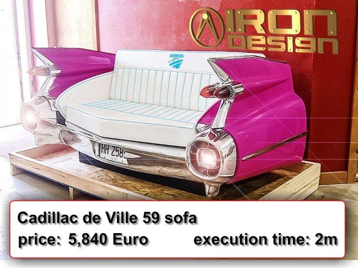 Cadillac de Ville 59 sofa