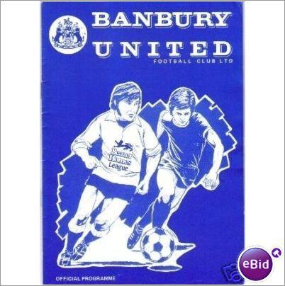 Banbury United v Wealdstone 19/12/1987 Non League Football Programme Sale