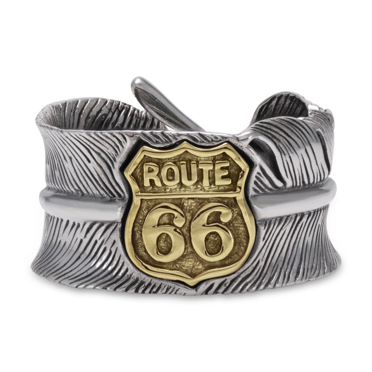 Mother Road Route 66 Sterling Silver Earring