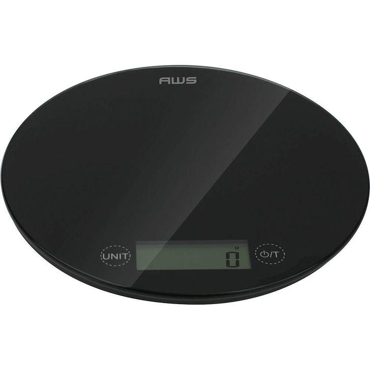 American Weigh Scales - Pepper Digital Kitchen Scale - Black