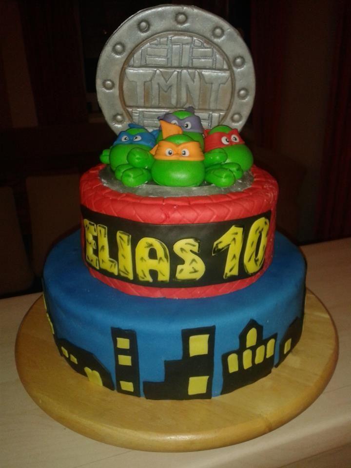 Teenage Mutant Ninja Turtles Cake Birthday Cakes