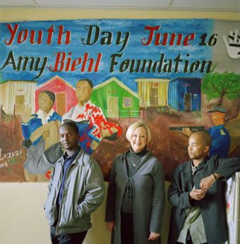 On August 25 1993, Amy Biehl, an American Fulbright scholar working in South Africa against apartheid, was   stabbed to death in a township near Cape Town. The four youths convicted of her murder were granted amnesty by TRC – a decision that was supported by Amy's parents. Easy Nofemela and Ntobeko Peni, two of the convicted men, now work for the Amy Biehl Foundation Trust in Cape Town, a charity which dedicates its work to putting up barriers against violence.