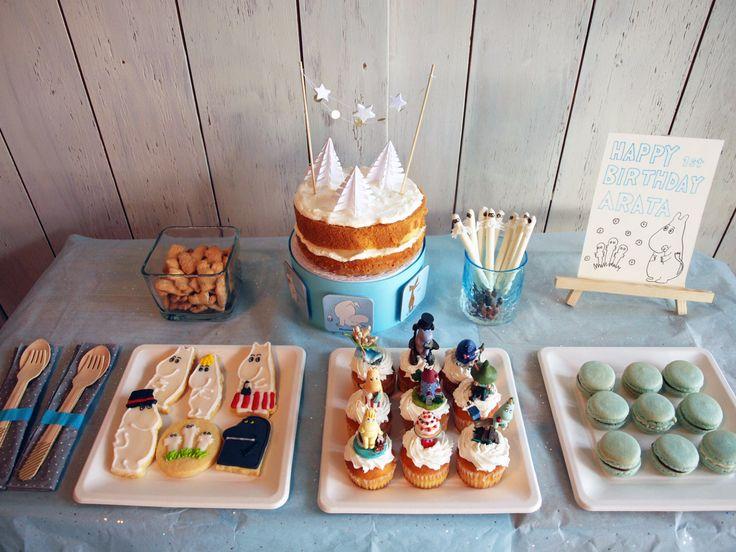 Moomin themed birthday party