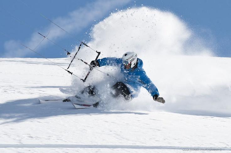 snowkite fan