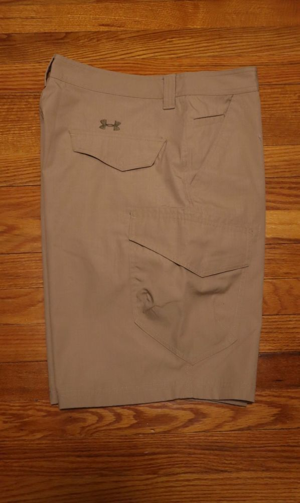 f751c17683 Under Armour Men's Ironsides HeatGear Cargo Shorts - Tan - 36 Waist  (1235386) #fashion #clothing #shoes #accessories #mensclothing #shorts  (ebay link)