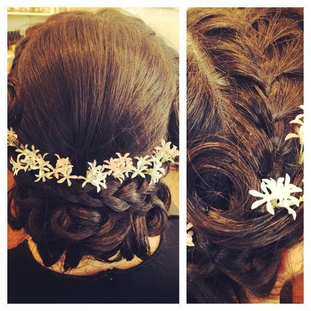 Hearts & Stars Salon & Day Spa specializes in styling hair for any occasion. Bridal upstyling, make-up, manicures and pedicures on the Big Island of Hawai'i. Appointments welcome! Call (808)-886-0600 for more information!  #wedding #updo #upstyling #bride #bridalhair #makeup #bridalmakeup #bridesmaid #flowers #specialday #braids #curls #pins #hairspray #hawaii #waikoloa #married #marriage #hair #skin #nails #hearts #stars #love