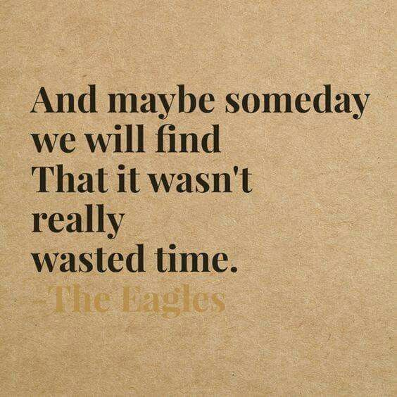 The Eagles - Wasted Time ️