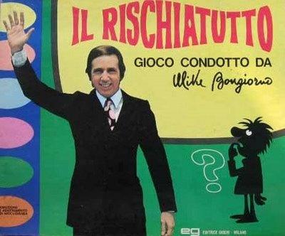 Mitico Rischiatutto presentato dal l'altrettanto mitico Mike Buongiorno Quiz 1970