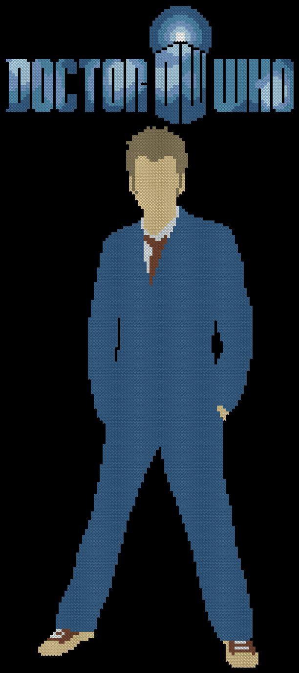 Doctor Who Cross Stitch PatternDOWNLOAD