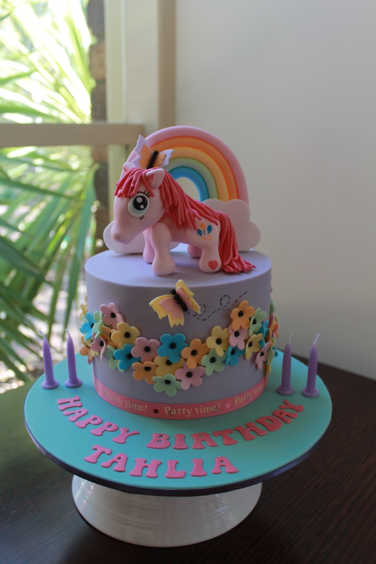 Pinkie Pie My Little Pony Birthday Cake Audrina S Ideas