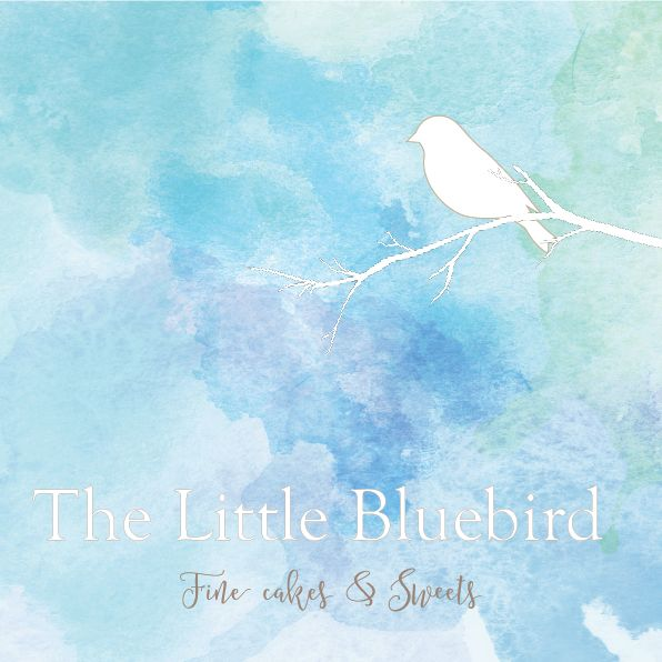 The Little Bluebird Design Options This is pretty, elegant and refined. All elements of this logo can be used independently or as a whole.