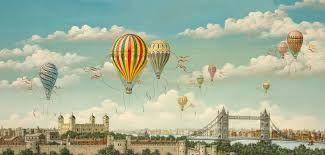 Afbeeldingsresultaat voor ballooning over london
