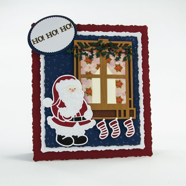 Rococo Christmas - Jolly Santa - 1375E