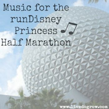 New tunes for the #rundisney #princesshalf  marathon preparations #FitFluential