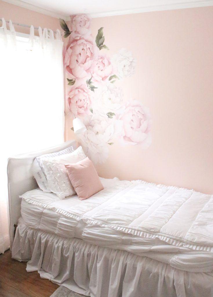 Sweet & Feminine Bedroom Space for a Tween Girl | Feminine ...