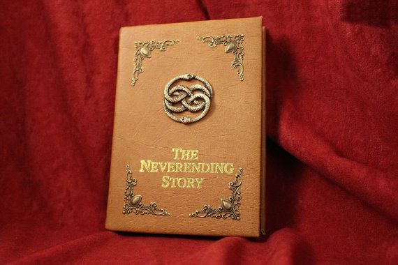 The Neverending Story Book Replica Cover for iPad / eReader / Kindle / Tablet - (Inspired by The Neverending Story)