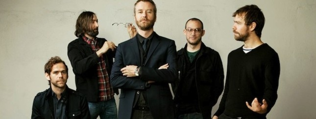 The National-- one of my favorite bands.